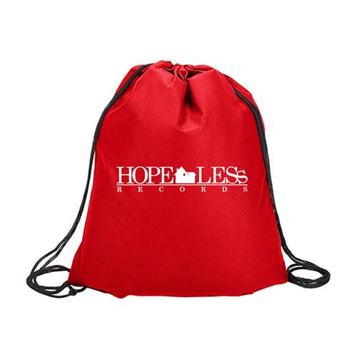 Home Red Drawstring Bag