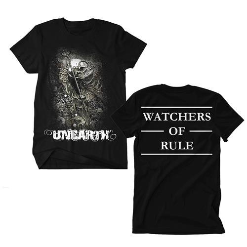 Watchers Of Rule Black T-Shirt