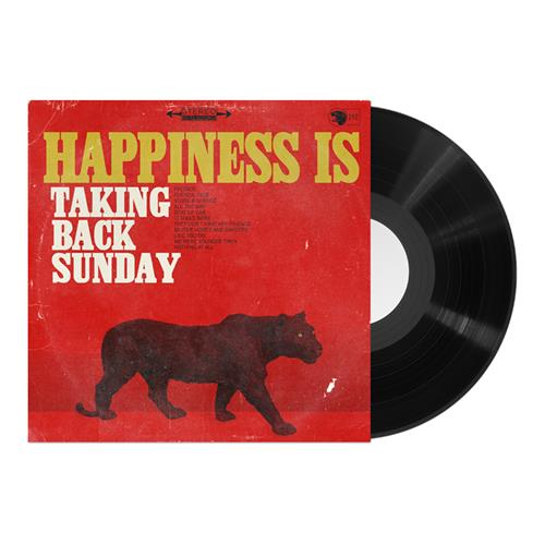 Happiness Is Black LP