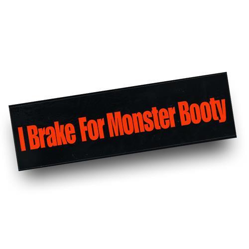 Monster Booty Bumper Sticker