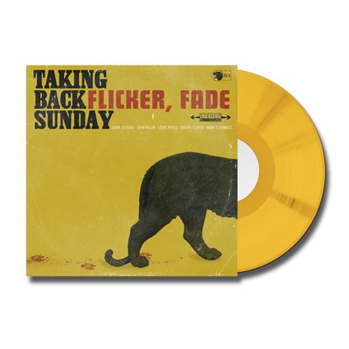 Flicker, Fade Opaque Gold 7inch Vinyl