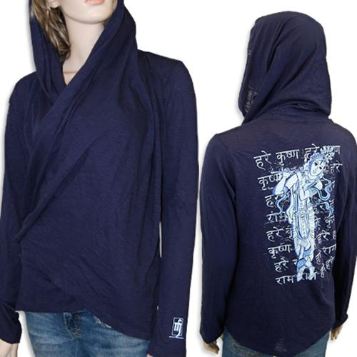 Krishna Midnight Blue Wrap