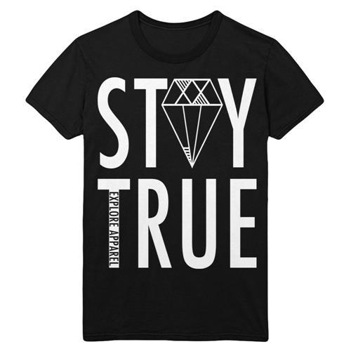 Stay True Black