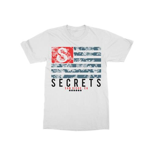 Flag White T-Shirt