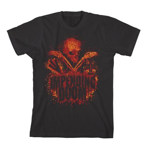 Impending Doom - Bloody Skull Black *Final Print* Sale!