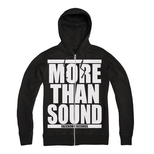 More Than Sound White Print Black *Sale! Final Print*