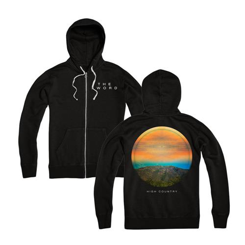 High Country Black Zip-Up Sweatshirt