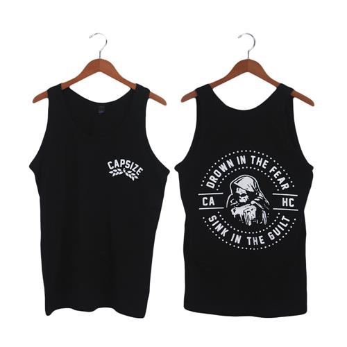 Sink Black Tank Top