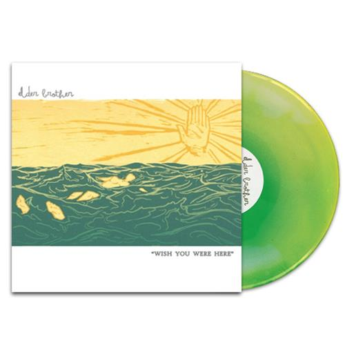Wish You Were Here White/Easter Yellow/Mint LP