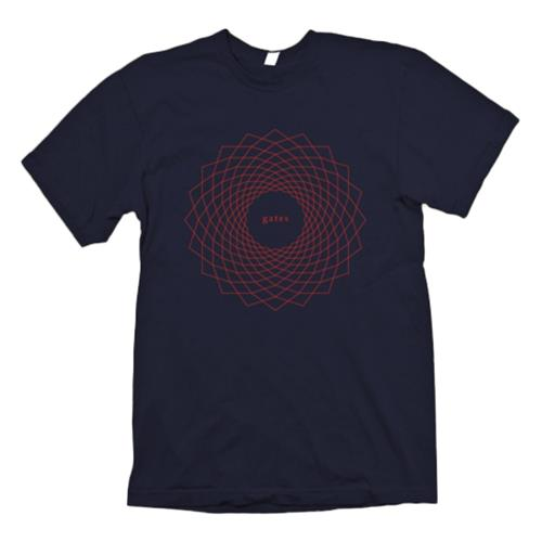 Geometric Navy T-Shirt