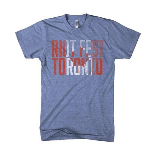 Flag (Toronto) Athletic Blue