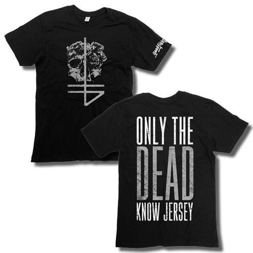 Only The Dead Know Jersey Black T-Shirt
