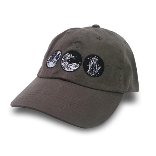 Blue In The Dark Dad Hat Forest Green Military