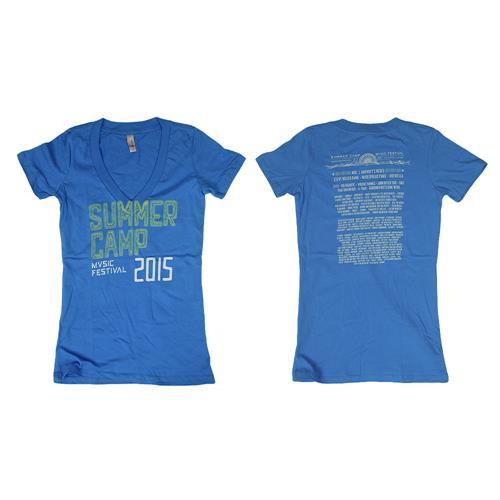 2015 Tour Blue V-Neck