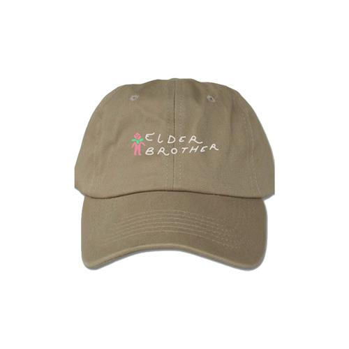 Flower Logo Khaki Dad Hat