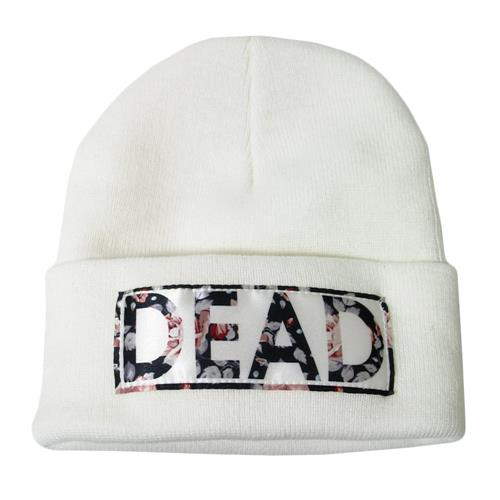 Dead Embroidered White