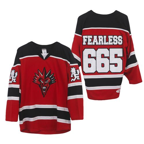 Fearless Fred Fury Red/White/Black Hockey