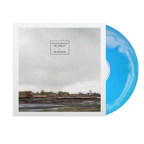 Cities In Search Of A Heart Blue/ White Smash
