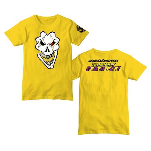 Death Pop Skull Yellow