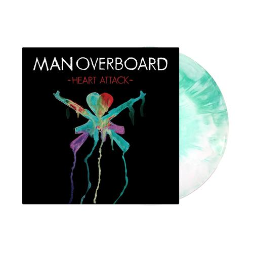 *ALMOST SOLD OUT VINYL* Heart Attack White/Green Starburst LP