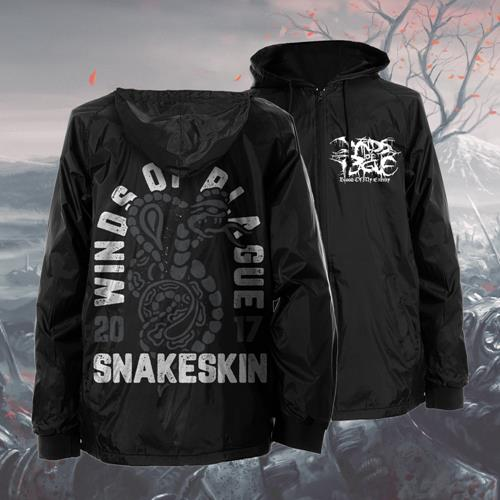 Blood Of My Enemy Black Windbreaker