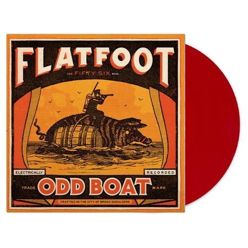 Odd Boat Red Vinyl Standard LP