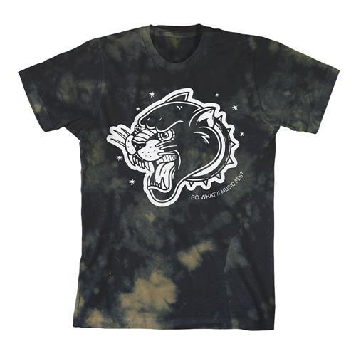 So What Music Festival Panther Bleach Tie Dye