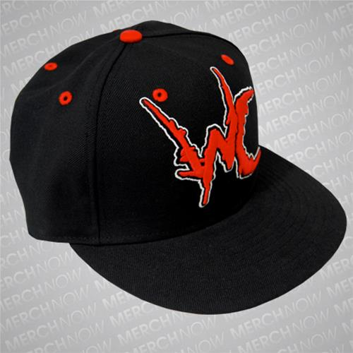 WC Custom Embroidered Black Fitted Hat : WC00 : MerchNOW - Your