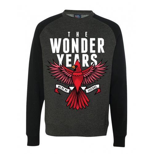 Cardinal Charcoal/Black Crewneck Sweatshirt