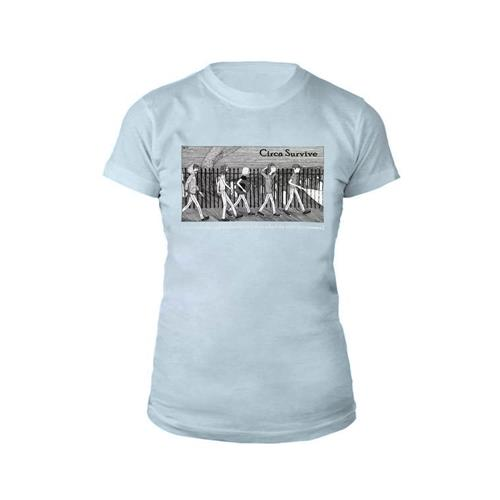 Graveyard Light Blue Girl Shirt