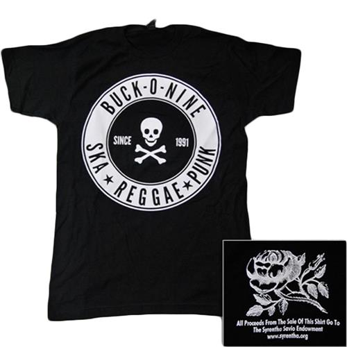 Skull & Crossed Bones Black