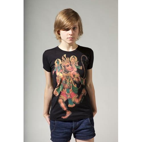 Hanuman Black Girl Shirt