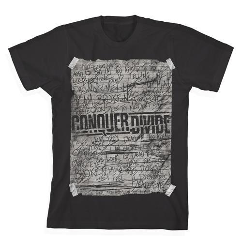 Scribble Black T-Shirt