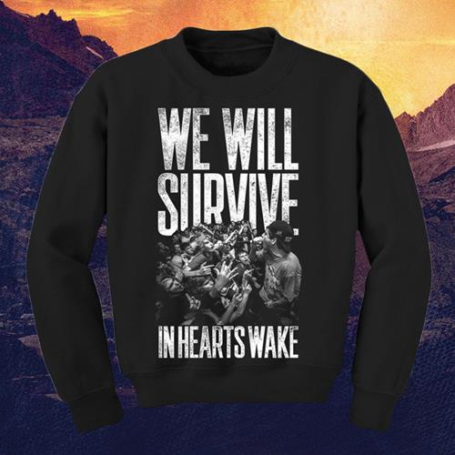 We Will Survive Black Crewneck