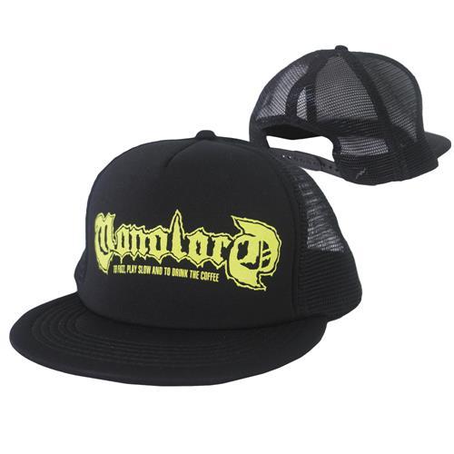 Logo Black Trucker Hat