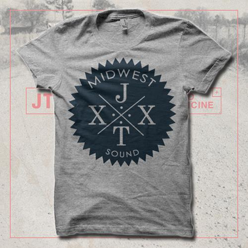 Midwest Heather Grey T-Shirt