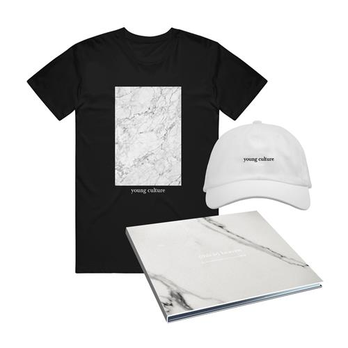 (This Is) Heaven CD + Marble T-Shirt + Dad Hat