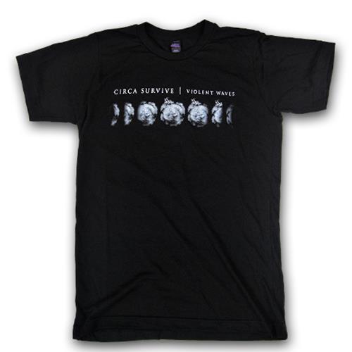 Moon Phase Tri-Black T-Shirt