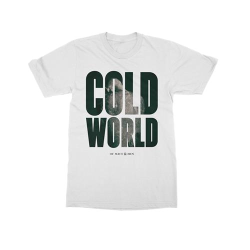 Cold World White  Extra Small
