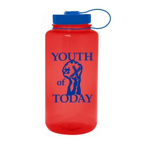 Fist Red Water Bottle