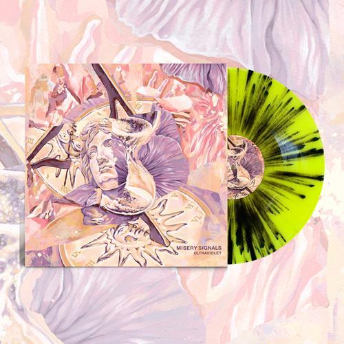 Ultraviolet BLM Vinyl (Highlighter Yellow W/ Black Splatter)