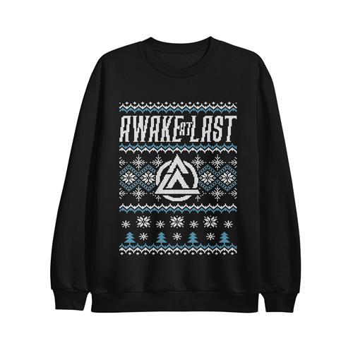 Black Christmas Sweater Crewneck