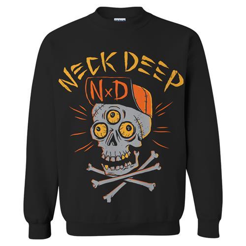 Skulls Black Crewneck