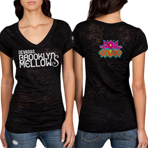 Brooklyn Mellows Black Ladies Shirt