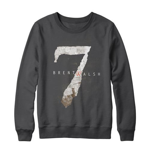 7 Charcoal Crewneck Sweatshirt