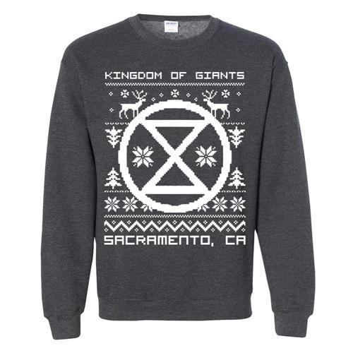 Holiday Sweater Dark Heather Crewneck