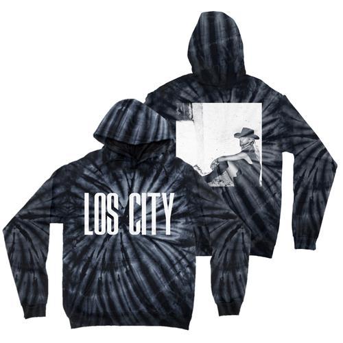 Lost City (BIG LOGO) Spider Black Tie-Dye