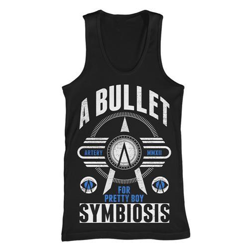 Symbiosis Black Tank Top