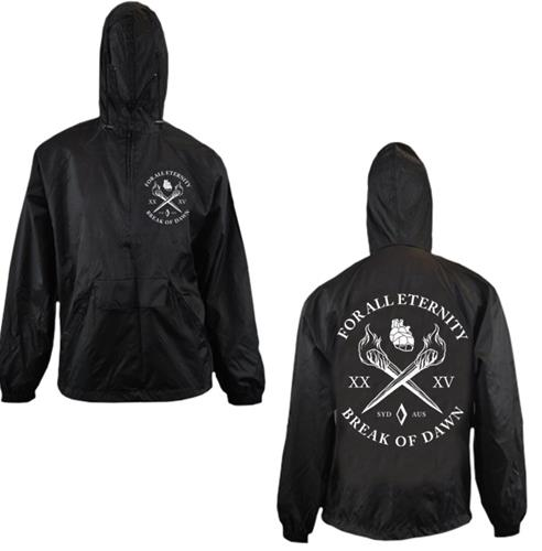 Torches Black Windbreakers Jacket