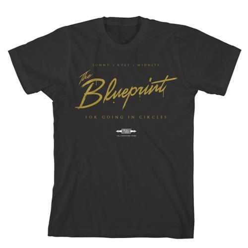 The Blueprint Black T-Shirt